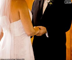 Rompicapo di Coppie alle loro nozze