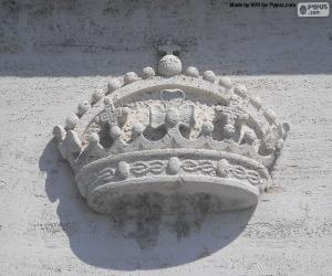 Rompicapo di Corona scolpito