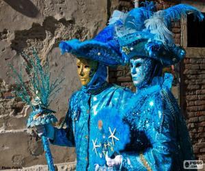 Rompicapo di Costumi blu