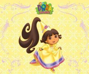 Rompicapo di Costumi Dora princess