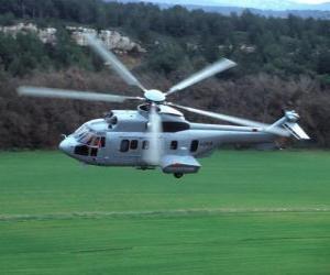 Rompicapo di Cougar grande elicottero EC725