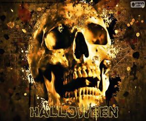 Rompicapo di Cranio di Halloween