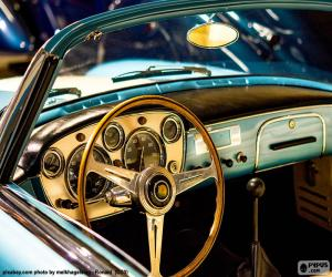 Rompicapo di Cruscotto di un auto d'epoca