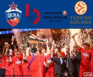 Rompicapo di CSKA Mosca campione Eurolega 16