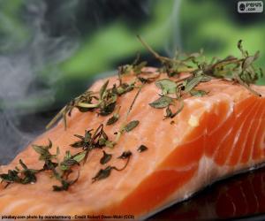 Rompicapo di Cucina salmone