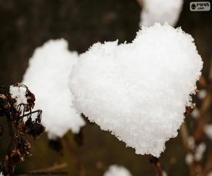 Rompicapo di Cuore di neve