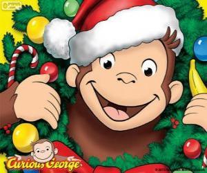 Rompicapo di Curioso George a Natale