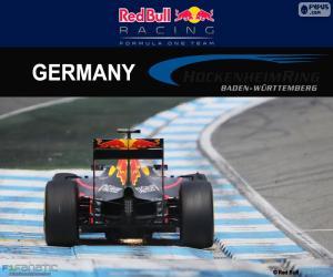 Rompicapo di D. Ricciardo, GP di Germania 2016