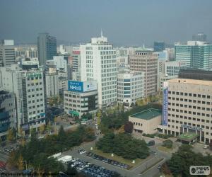 Rompicapo di Daejeon, Corea del sud