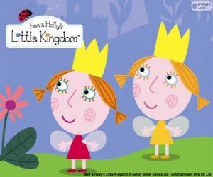 Rompicapo di Daisy e Poppy, le fate gemelle, le sorelline di Holly