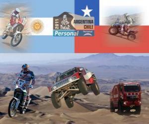 Rompicapo di Dakar 2011 Argentina Chile