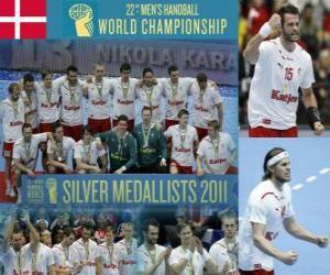 Rompicapo di Danimarca medaglia d'argento nella Pallamano Mondo 2011