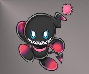 Rompicapo di Dark Chao è la mascotte del male dei giochi di Sonic