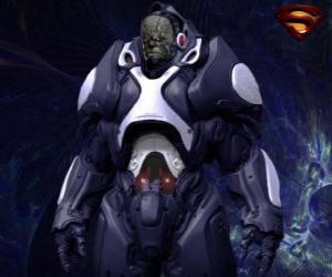 Rompicapo di Darkseid, tiranno di un mondo lontano di Apokolips chiamati dei cosmici.