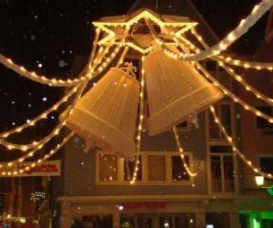 Rompicapo di Decorazione delle campane di Natale