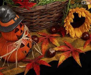 Rompicapo di Decorazione per Halloween