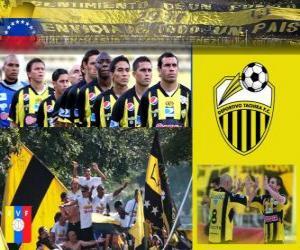 Rompicapo di Deportivo Táchira Fútbol Club Campione del Torneo Apertura 2010 (VENEZUELA)