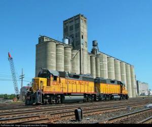 Rompicapo di Deposito per il grano, un grande edificio per lo stoccaggio dei cereali