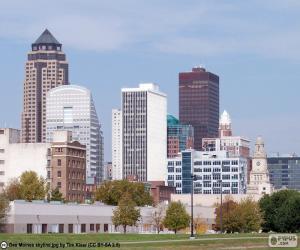 Rompicapo di Des Moines, Stati Uniti