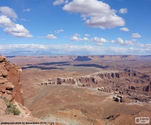 Rompicapo di Deserto dello Utah, Stati Uniti