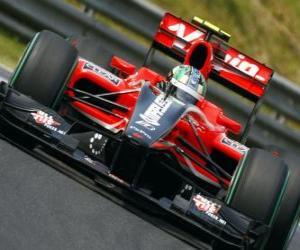 Rompicapo di di Grassi - Virgin Lucas - Gran Premio d'Ungheria 2010