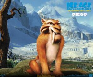 Rompicapo di Diego, il tigre dai denti a sciabola