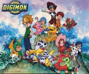 Rompicapo di Digimon Personaggi