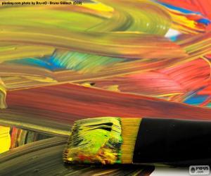 Rompicapo di Dipingere in vari colori