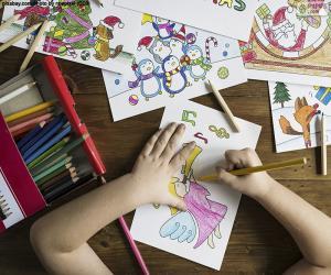 Rompicapo di Disegni da colorare