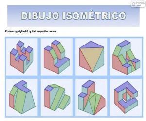 Rompicapo di Disegni isometrici