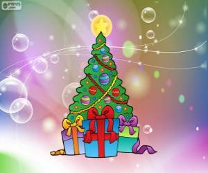 Rompicapo di Disegno albero di Natale