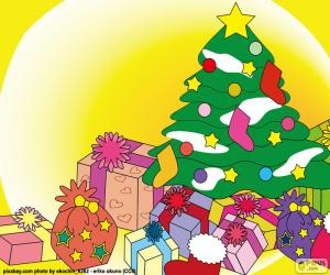 Rompicapo di Disegno, albero di Natale