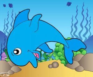 Rompicapo di Disegno del delfino