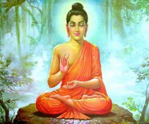Rompicapo di Disegno del Gautama Buddha