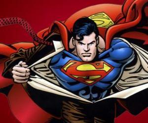 Rompicapo di Disegno di Superman