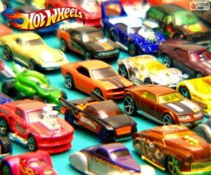 Rompicapo di Diverse auto Hot Wheels