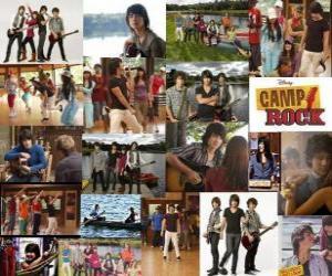 Rompicapo di Diverse immagini di Camp Rock