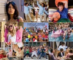 Rompicapo di Diverse immagini di High School Musical 2
