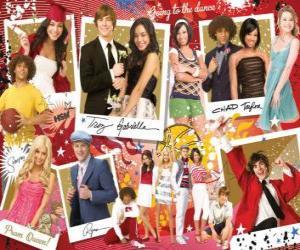 Rompicapo di Diverse immagini di High School Musical 3