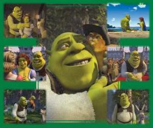 Rompicapo di Diverse immagini di Shrek