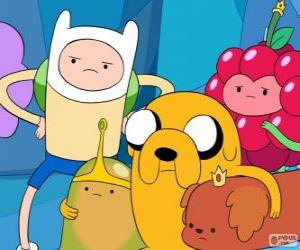 Rompicapo di Diversi personaggi di Adventure Time