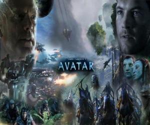 Rompicapo di Diversi personaggi di avatar