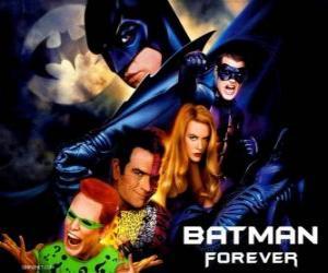 Rompicapo di Diversi personaggi di Batman