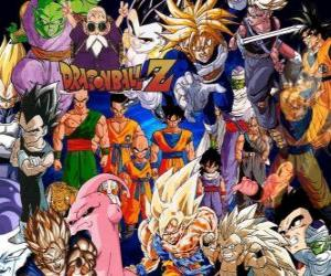 Rompicapo di Diversi personaggi di Dragon Ball