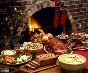 Rompicapo di Diversi piatti per Natale