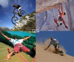 Rompicapo di Diversi sport estremi e dell'avventura