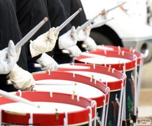 Rompicapo di Diversi tamburi