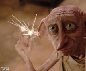 Rompicapo di Dobby, un elfo domestico da Harry Potter
