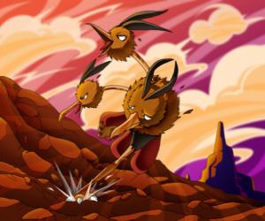 Rompicapo di Dodrio - Pokémon volante normale