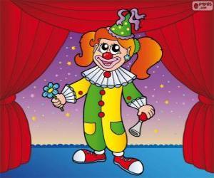 Rompicapo di Donna clown